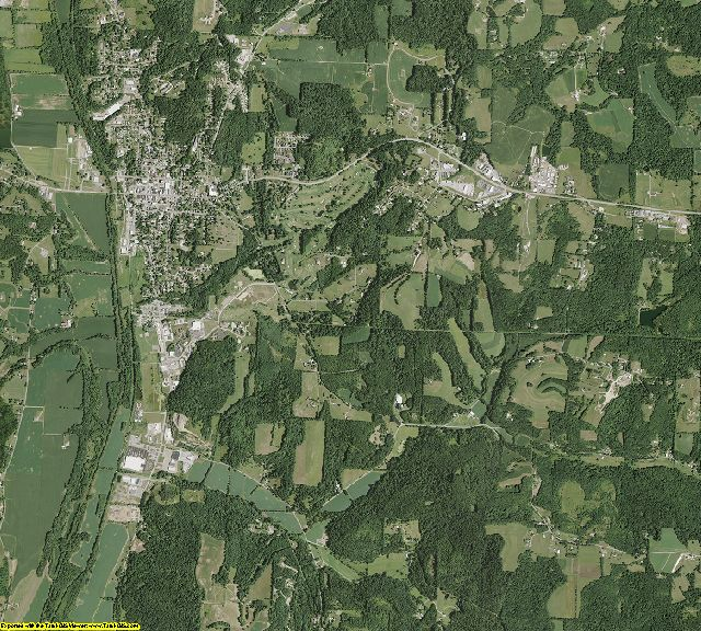 Holmes County, Ohio aerial photography