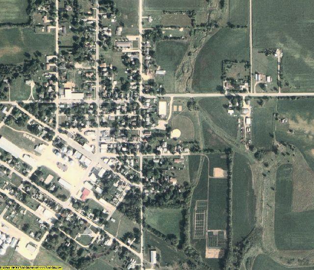 Howard County, IA aerial photography detail