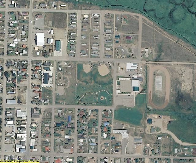 Jackson County, CO aerial photography detail