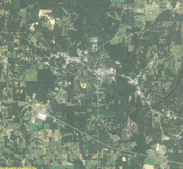 Jackson County, Florida aerial photography