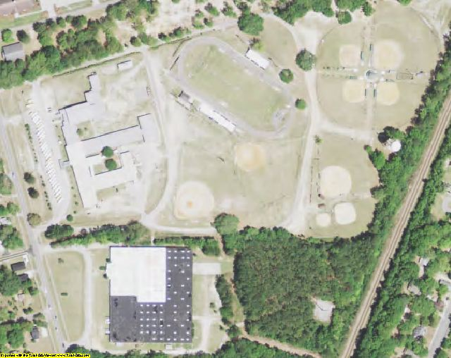 Jasper County, SC aerial photography detail