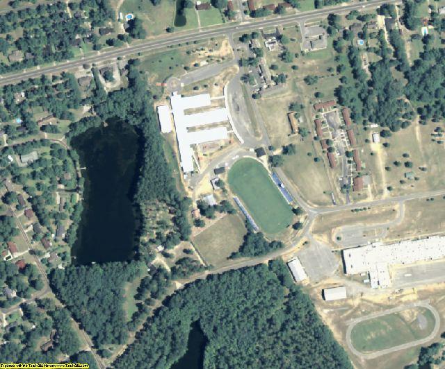 Johnson County, GA aerial photography detail