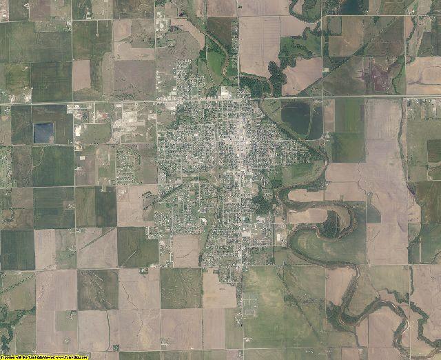 Kay County, Oklahoma aerial photography