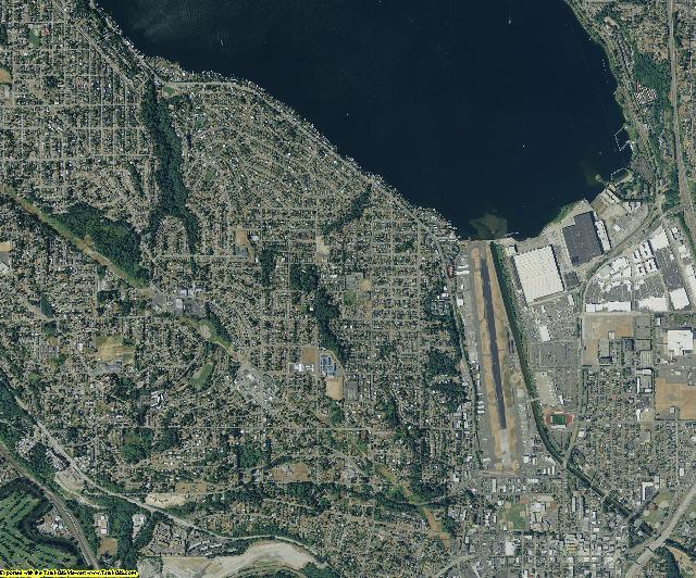 King County, Washington aerial photography