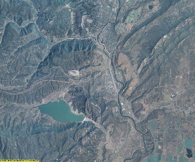 La Plata County, Colorado aerial photography