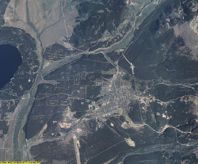 Lake County, Colorado aerial photography