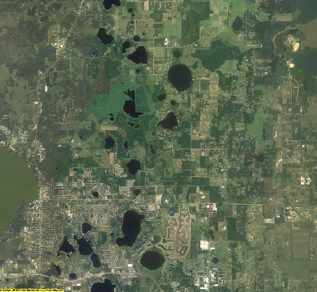 Lake County, Florida aerial photography