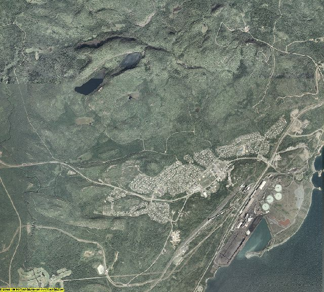 Lake County, Minnesota aerial photography