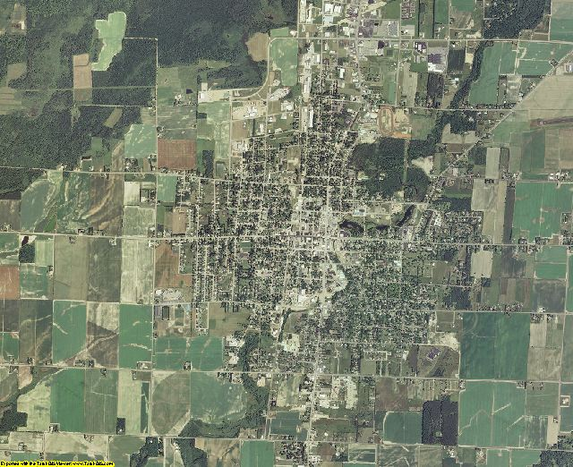 Langlade County, Wisconsin aerial photography