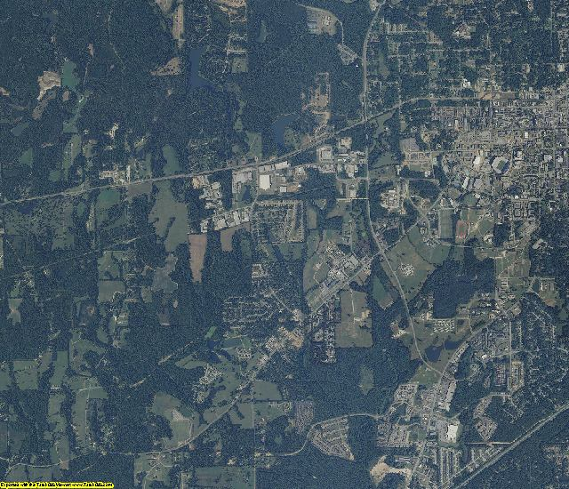 Lee County, Alabama aerial photography