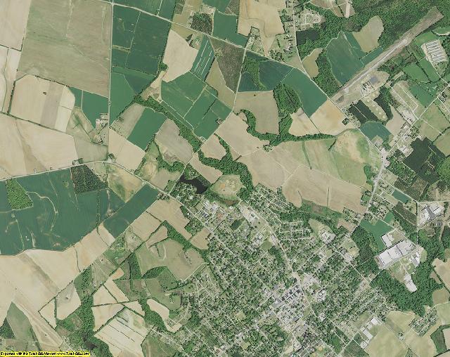 Lee County, South Carolina aerial photography