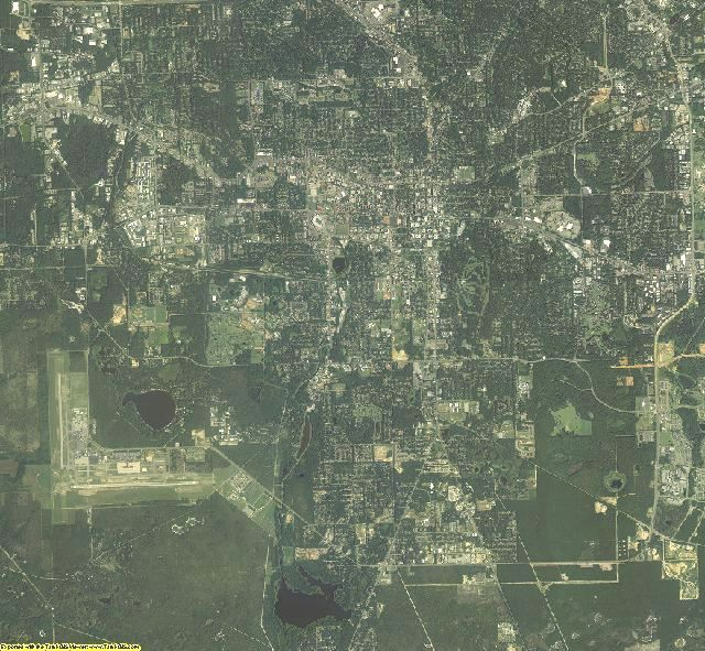 Leon County, Florida aerial photography