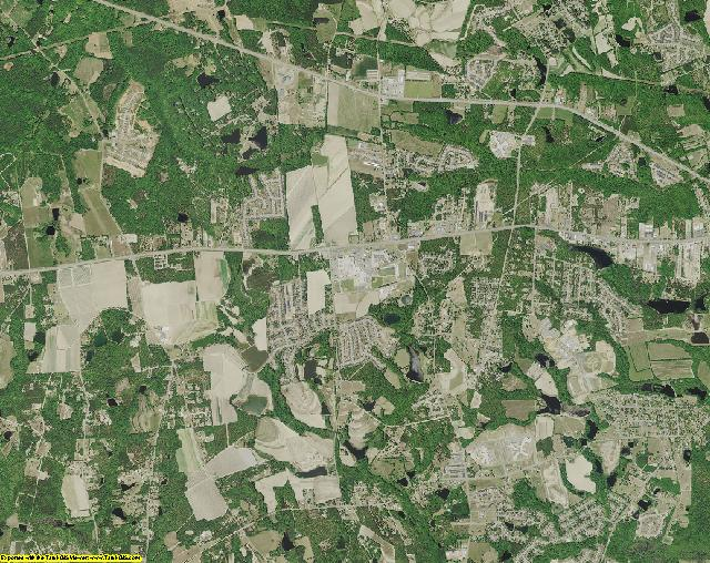 Lexington County, South Carolina aerial photography