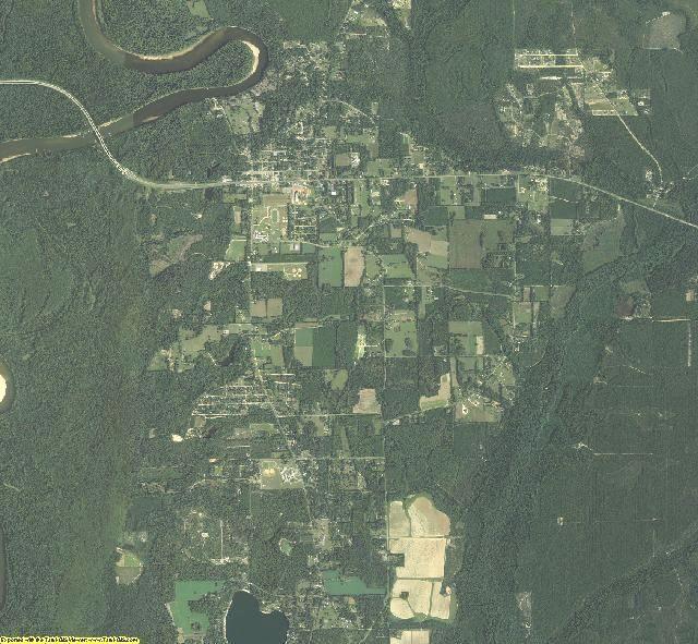 Liberty County, Florida aerial photography