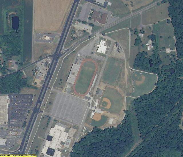 Limestone County, AL aerial photography detail