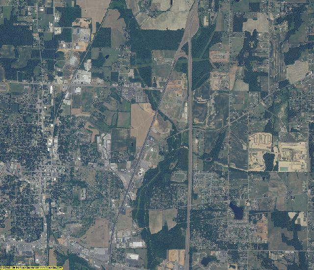 Limestone County, Alabama aerial photography