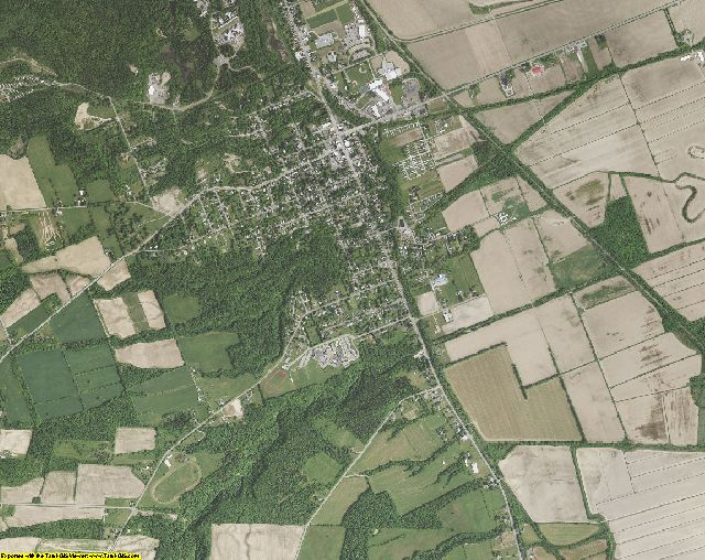 Livingston County, New York aerial photography