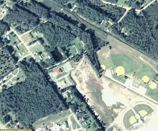 Long County, GA aerial photography detail