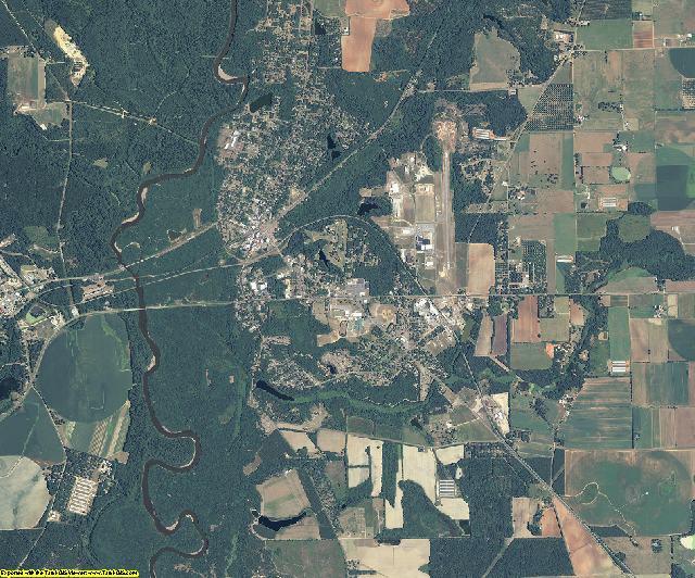 Macon County, Georgia aerial photography