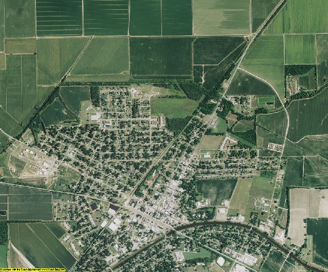 Madison County, Louisiana aerial photography
