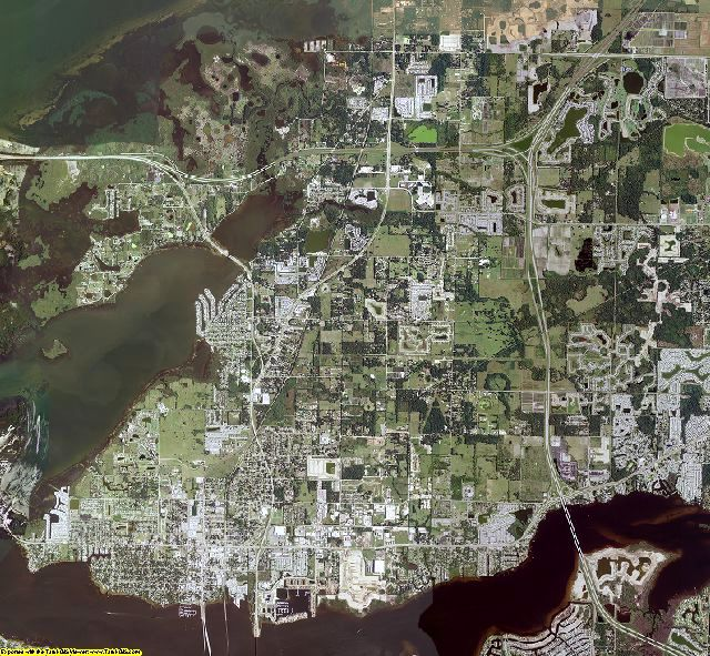 Manatee County, Florida aerial photography