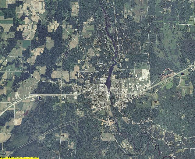 Marinette County, Wisconsin aerial photography