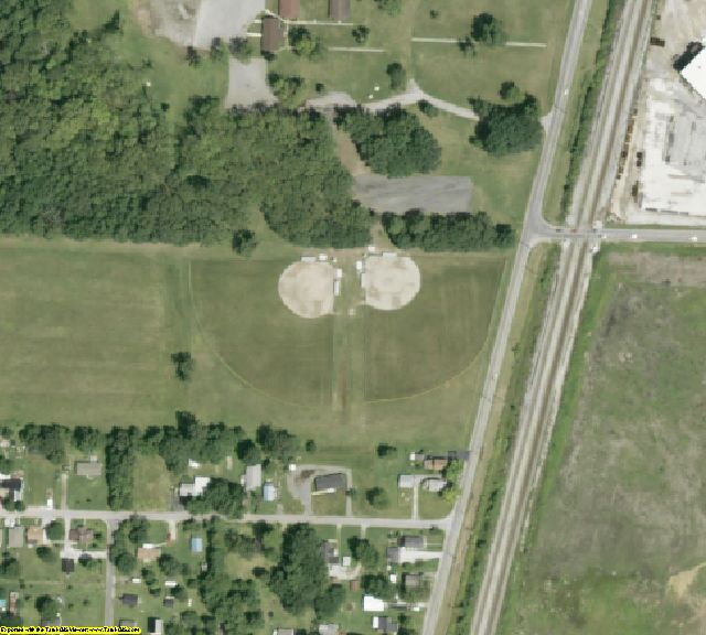 Marion County, OH aerial photography detail