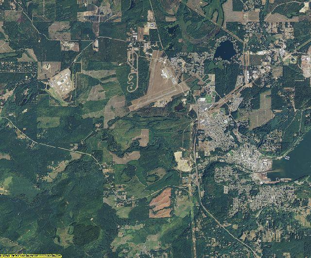 Mason County, Washington aerial photography