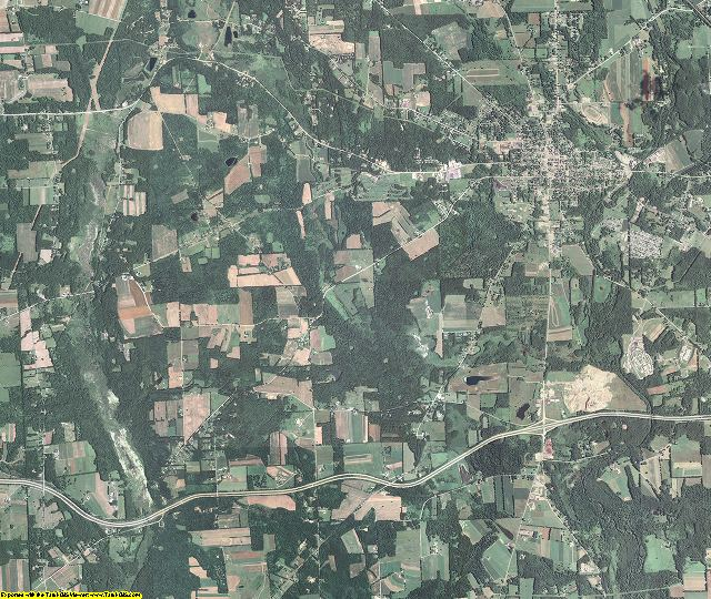 Mercer County, Pennsylvania aerial photography