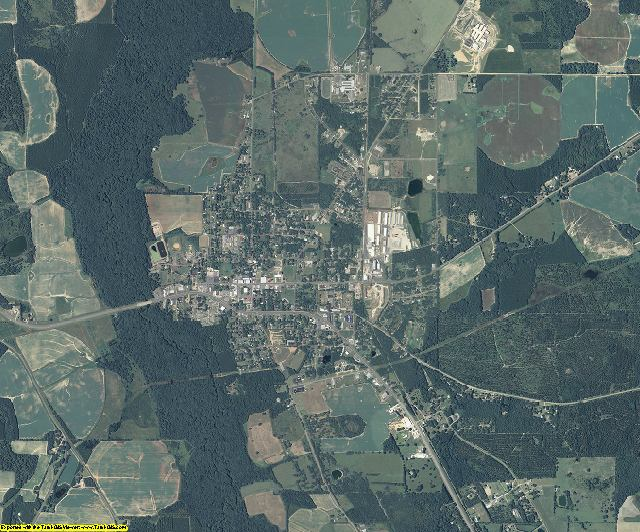 Miller County, Georgia aerial photography