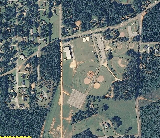 Monroe County, AL aerial photography detail