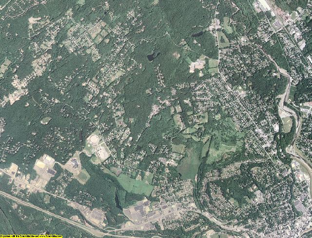 Monroe County, Pennsylvania aerial photography