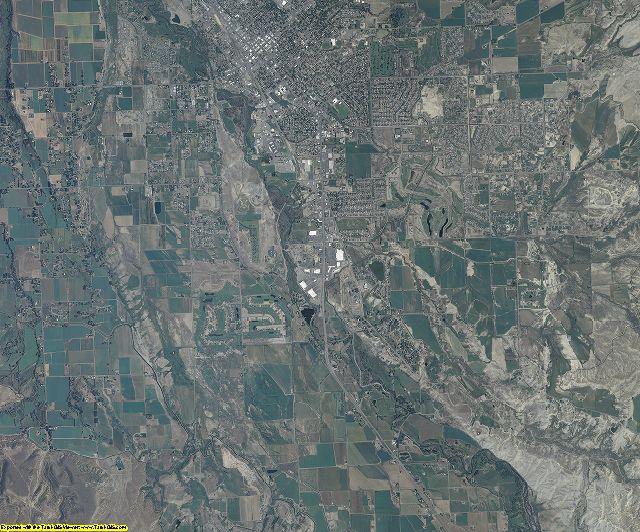 Montrose County, Colorado aerial photography