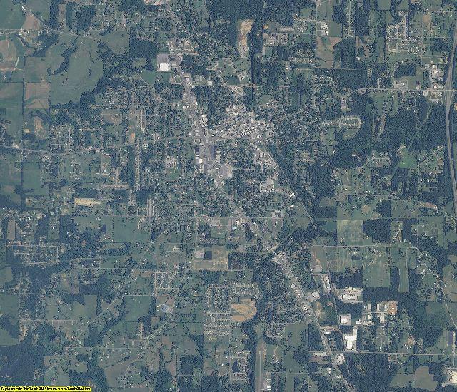 Morgan County, Alabama aerial photography