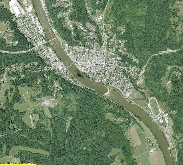 Morgan County, Ohio aerial photography