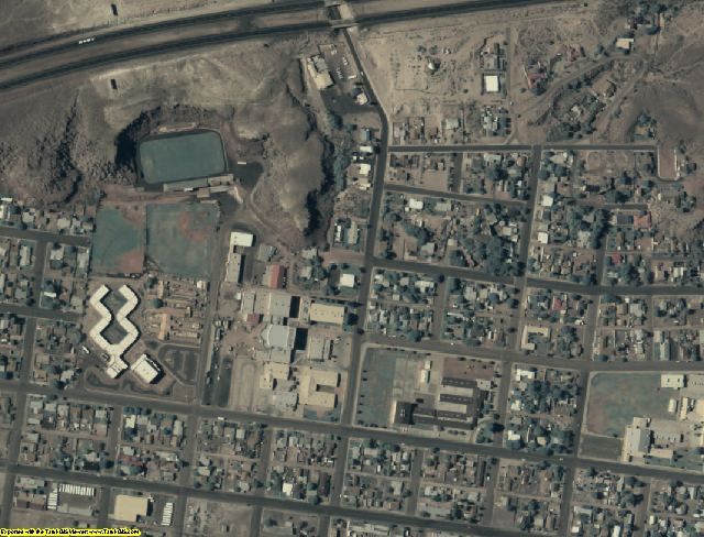Navajo County, AZ aerial photography detail