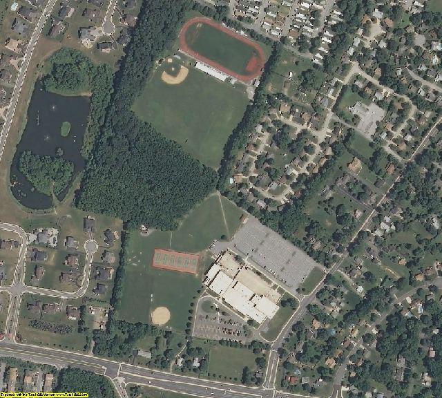 New Castle County, DE aerial photography detail