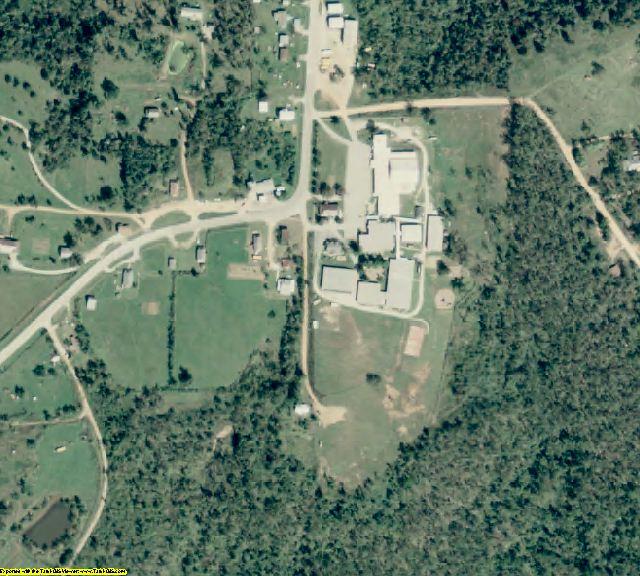 Newton County, AR aerial photography detail