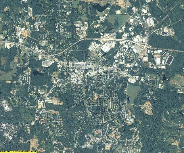 Newton County, Georgia aerial photography