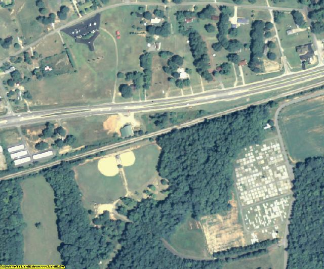 Oglethorpe County, GA aerial photography detail