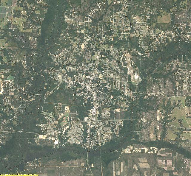 Okaloosa County, Florida aerial photography