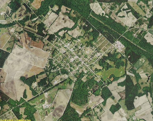 Orangeburg County, South Carolina aerial photography