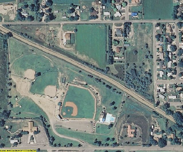 Otero County, CO aerial photography detail