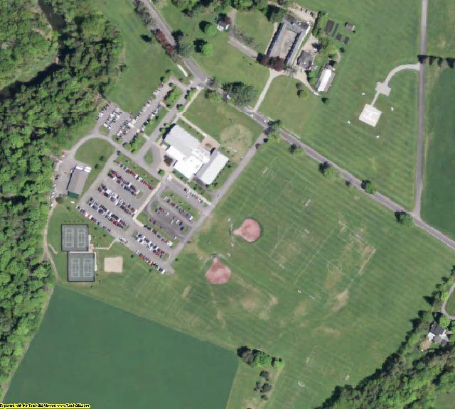 Otsego County, NY aerial photography detail