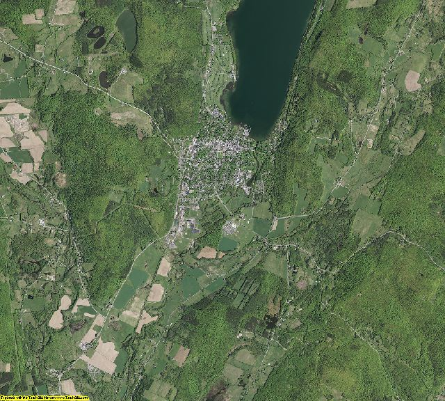 Otsego County, New York aerial photography