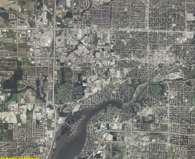 Outagamie County, Wisconsin aerial photography