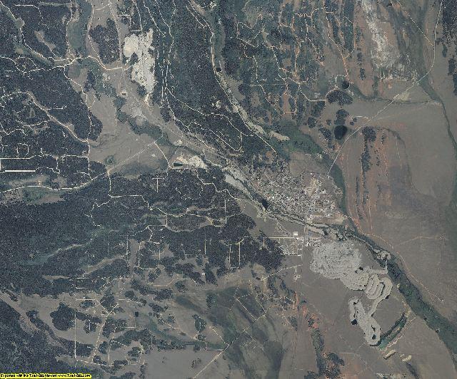 Park County, Colorado aerial photography