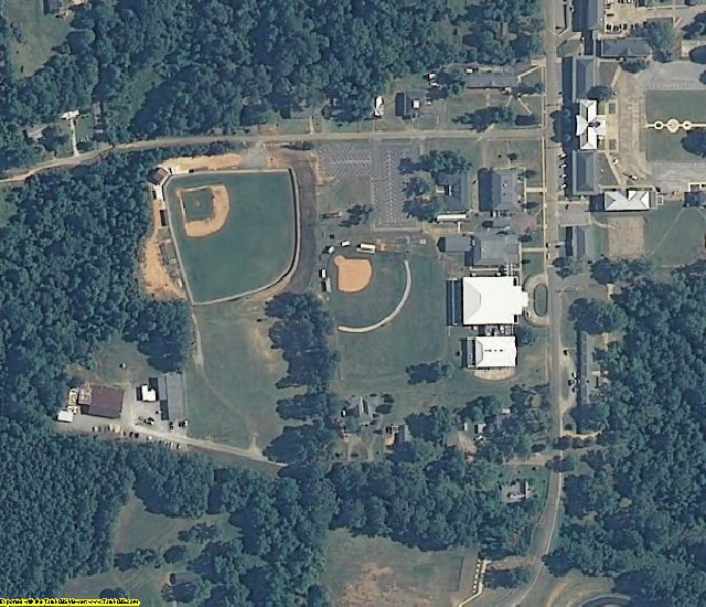 Perry County, AL aerial photography detail
