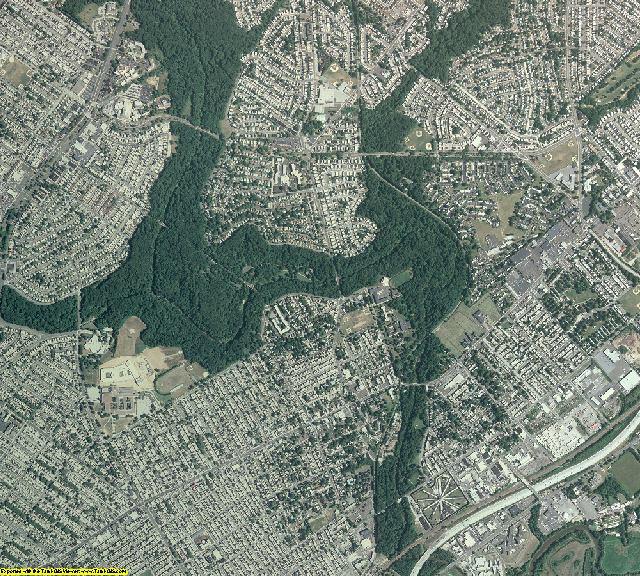 Philadelphia County, Pennsylvania aerial photography
