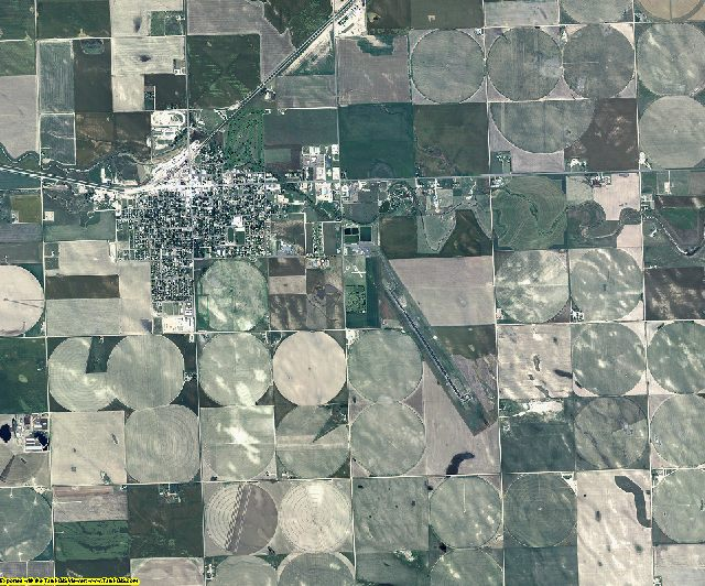 Phillips County, Colorado aerial photography